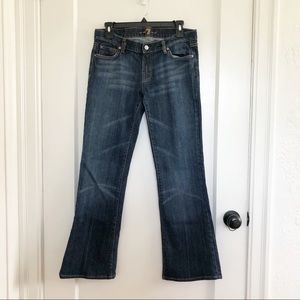 7 for all mankind bootcut sparkle jeans